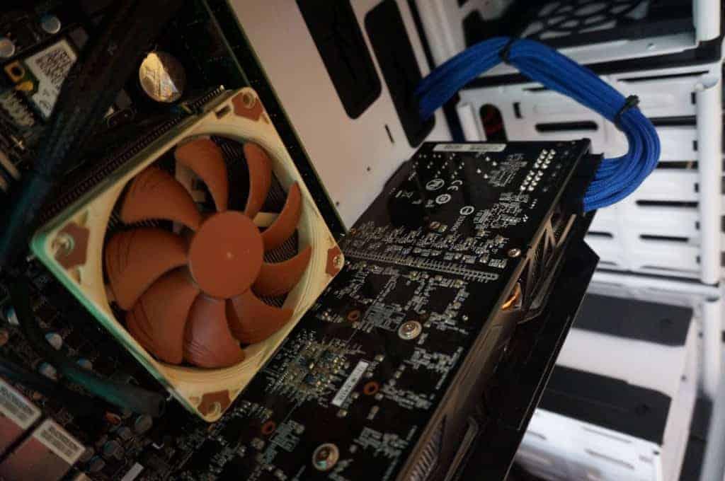 Nanoxia Deep Silence 5 - Des rallonges PCI-X à prévoir !