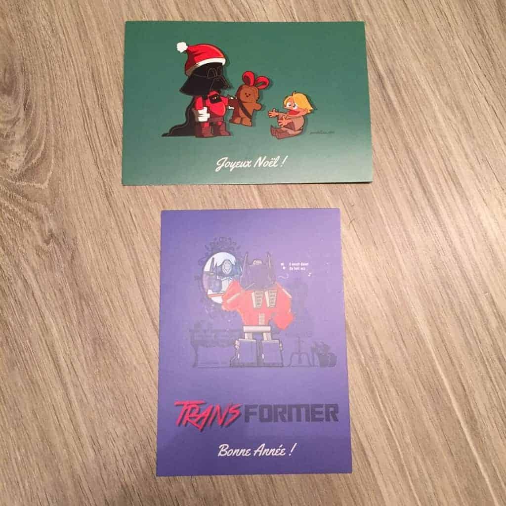 JDG Box - Cartes postales humoristiques de Pandaluna