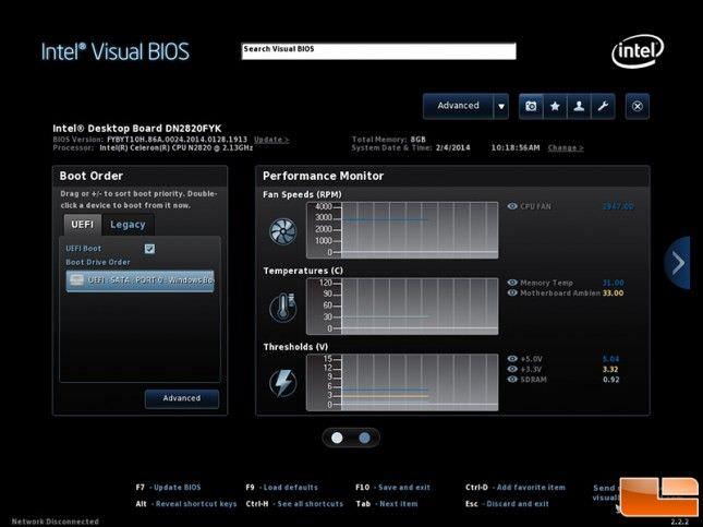 Intel Nuc Visual Bios