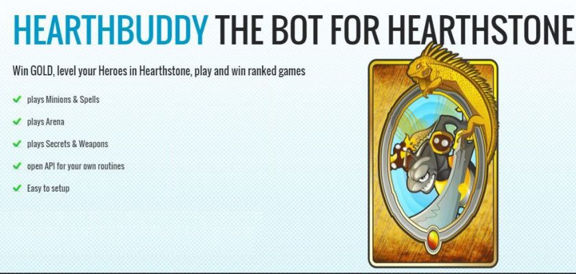 Bot Hearthstone - Hearthbuddy