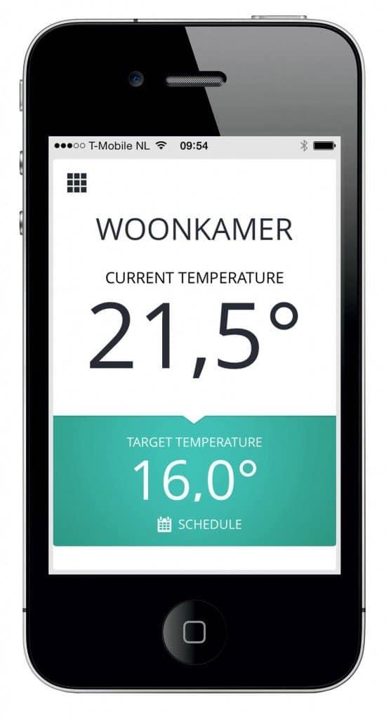 Thermostat Honeywell evohome  - Gestion facile depuis votre smartphone