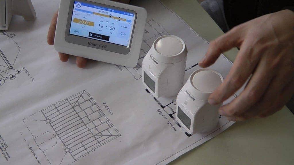 Thermostat Honeywell evohome - un bon calcul pour les nouvelles installations