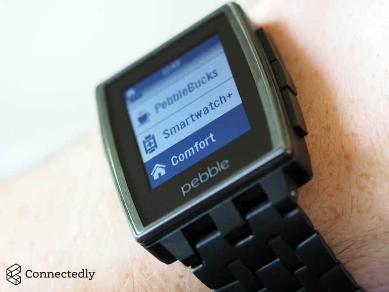 Honeywell evohome - compatible avec la montre Pebble