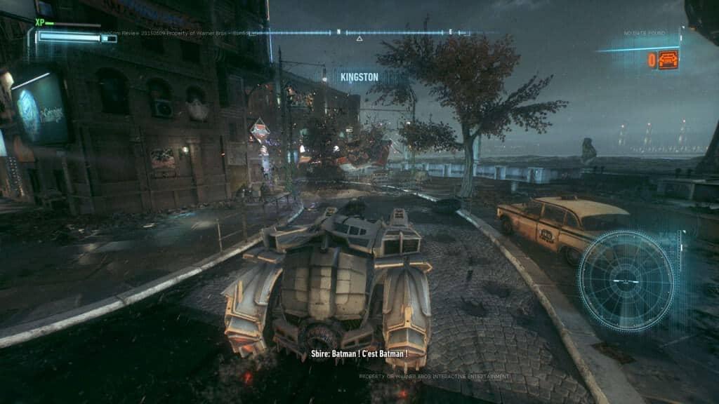 Batman Arkham Knight - Aaaah la Batmobile