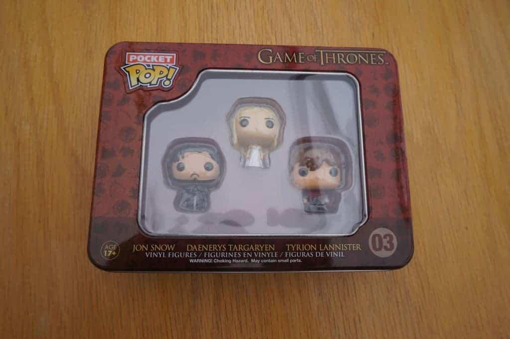 Funko Pop - Game of Thrones - La boite