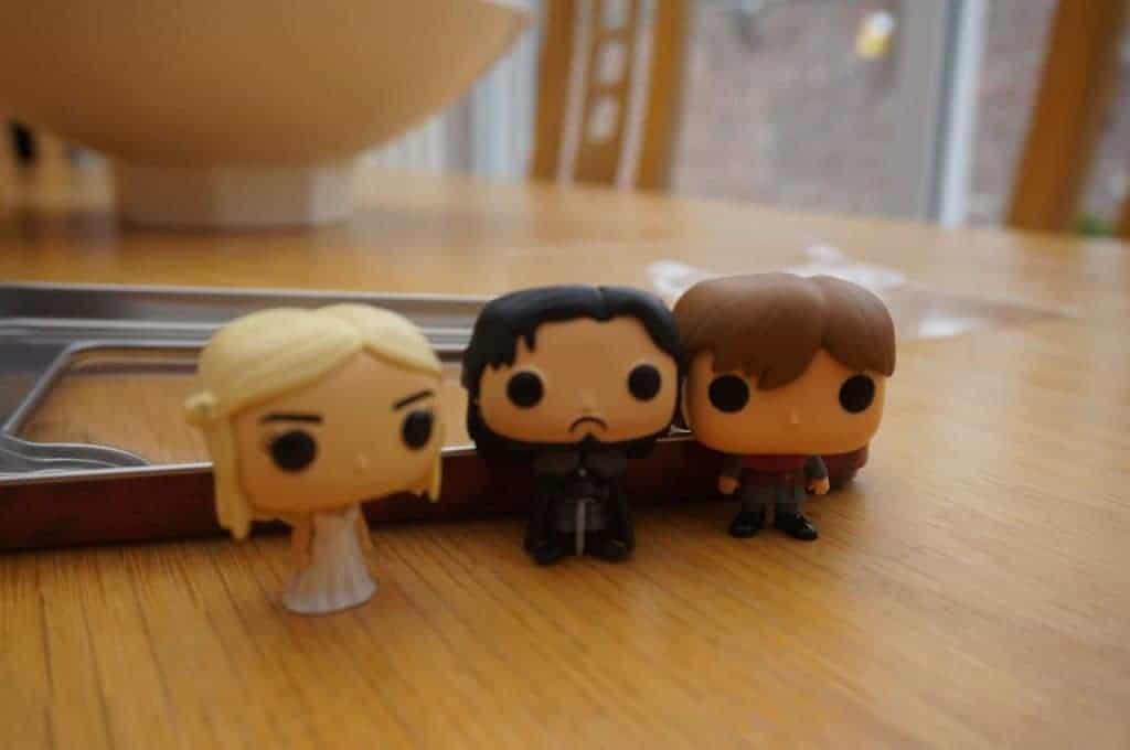 Funko Pop - Game of Thrones - Jon Snow Daenerys Targaryen Tyrien Lannister