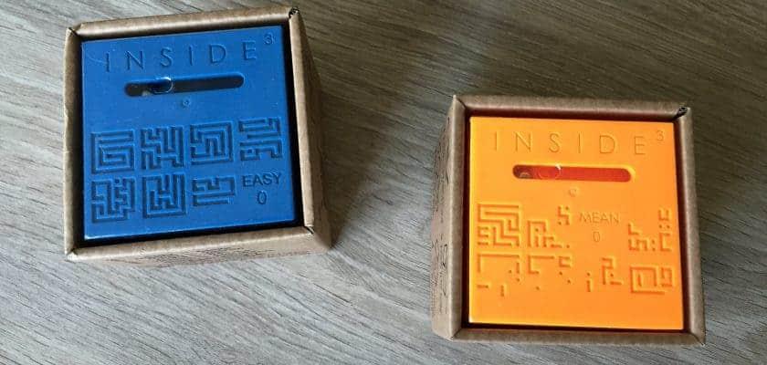 Inside The Cube - Un facile et un méchant utilisés pour ce test