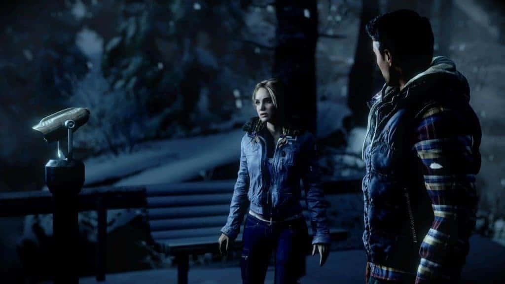 Until Dawn - Un beau rendu
