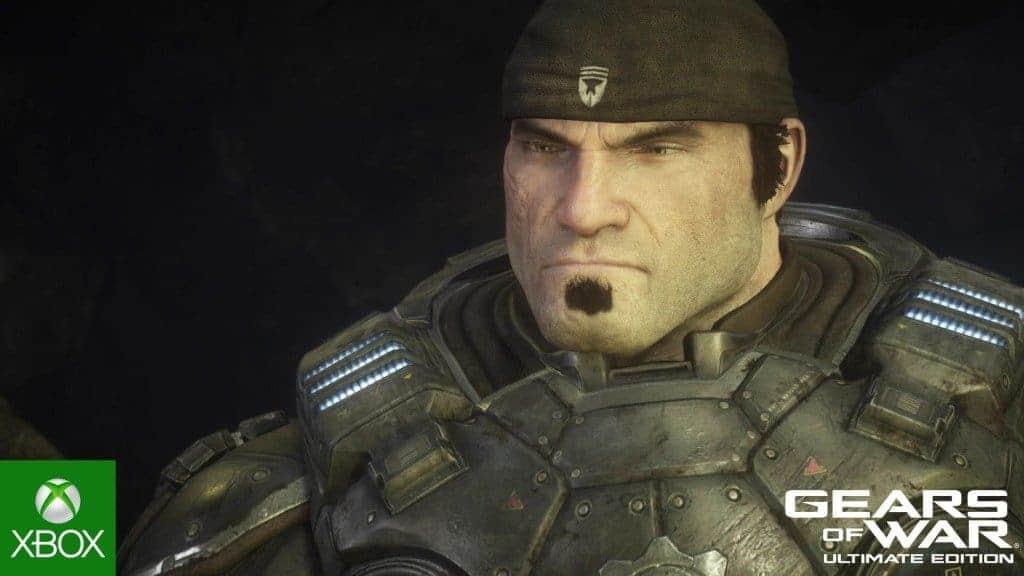 Gears of war ultimate edition - Le visage de Marcus modernisé