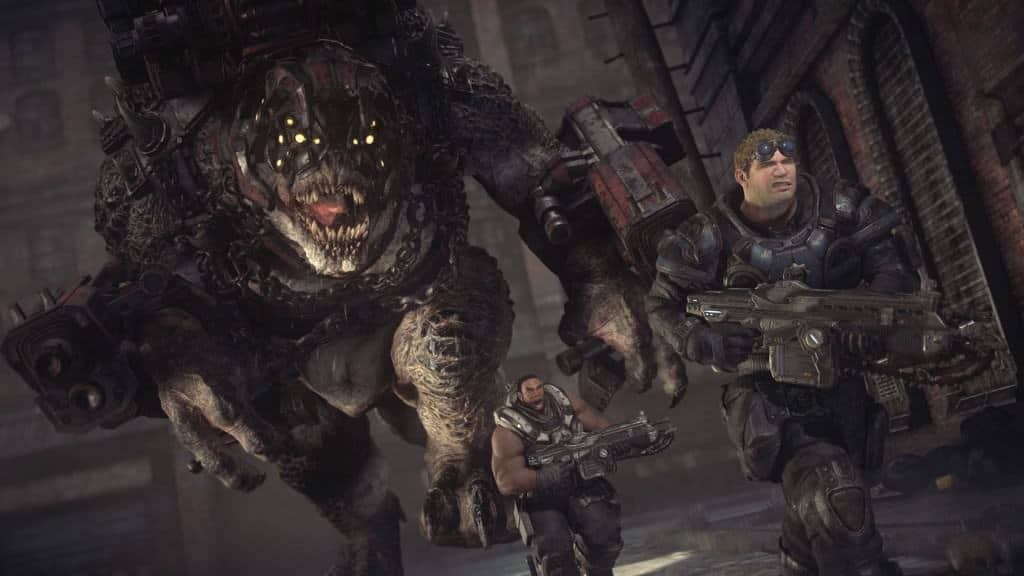 Gears of war ultimate edition - Le bestiaire toujours aussi impréssionant