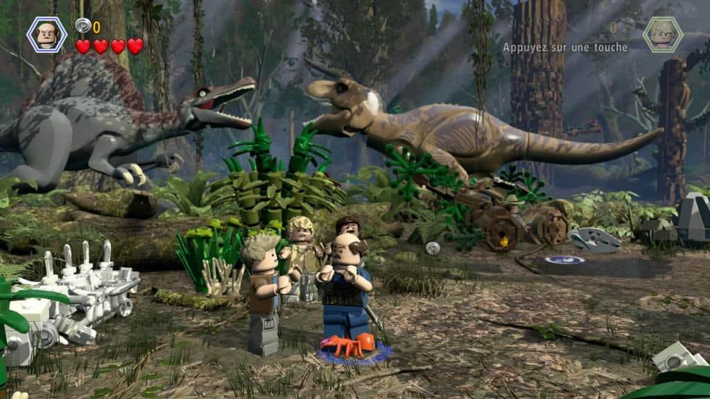 Lego Jurassic World - Des dinos bien modélisés