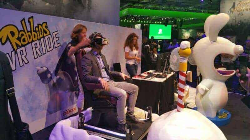 Ubisoft VR Gamescom 2015