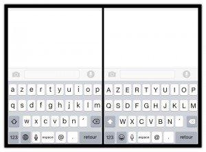 iOS 9 - Petit changement dans le clavier