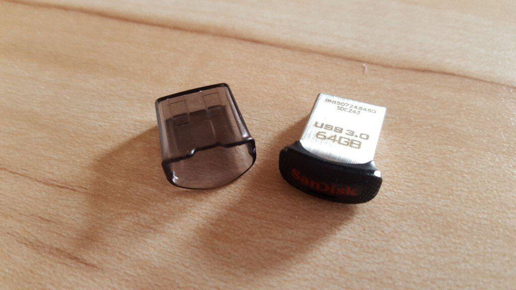 SanDisk Ultra Fit - Difficile de faire plus petit non?