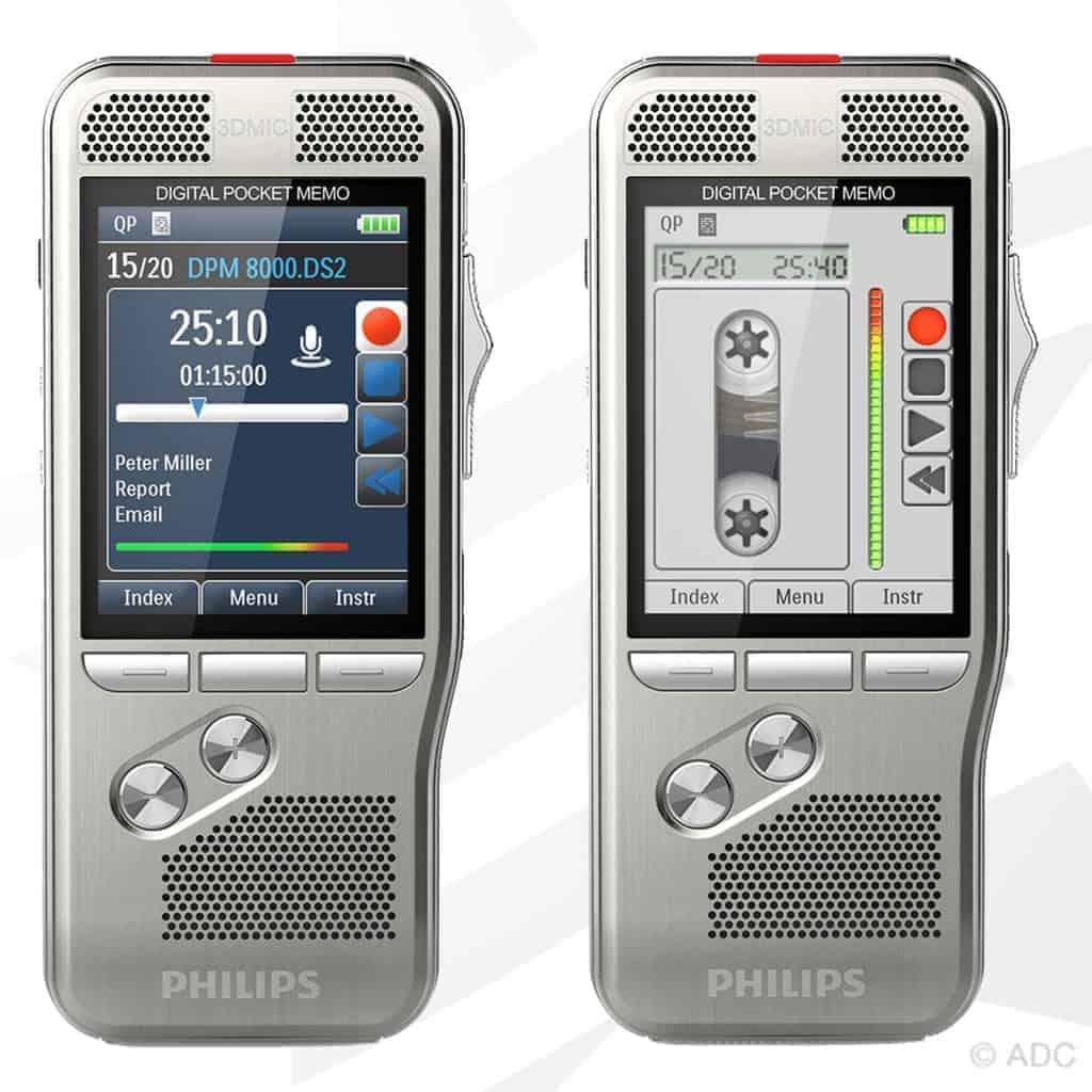 Philips DPM 8200 - Vous êtes nostalgique de l'interface des vieux appareils analogiques? Pas de problème