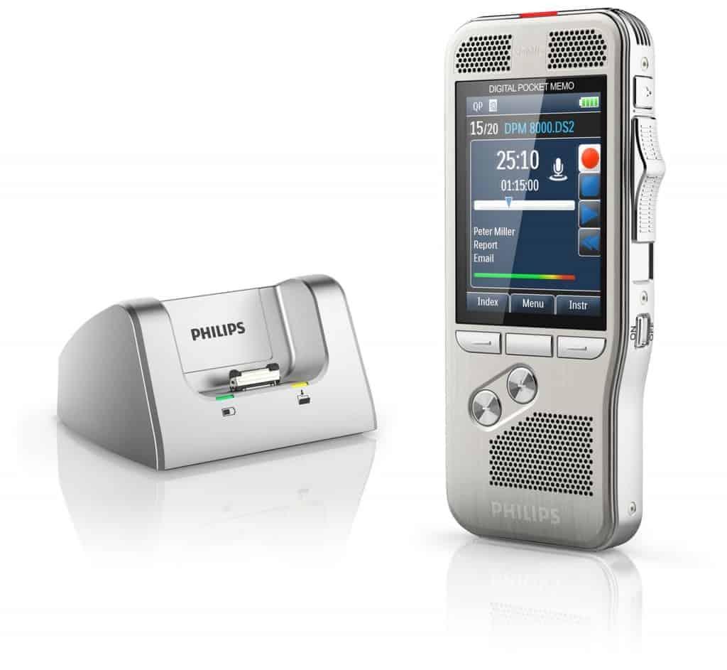 Philips DPM 8200 - Finitions haut de gamme et ergonomie sans failles
