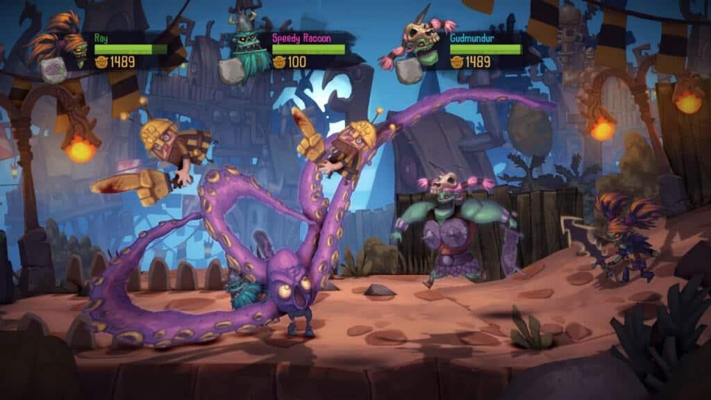 Zombie Vikings - Des personnages haut en couleur