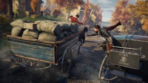 Assassin's Creed Syndicate - Ah les calèches...