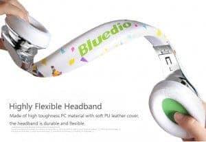 Casque sans fil Bluedio A - Vous avez dit flexible?