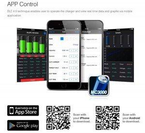 SKYRC MC3000 - Une app pour tout contrôler