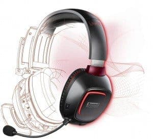 Creative Soundblaster Tactic3D Rage Wireless - un joli design