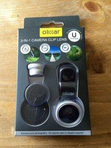 Olixar kit lentilles - une boîte pleine de surprises ?