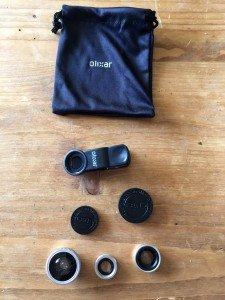 Olixar kit lentilles - Le produit a un aspect qualitatif inattendu.
