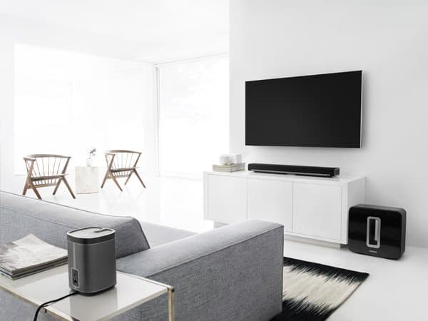 Sonos Playbar & Sub - Le mode Surround n'apporte pas grand chose. ©Sonos