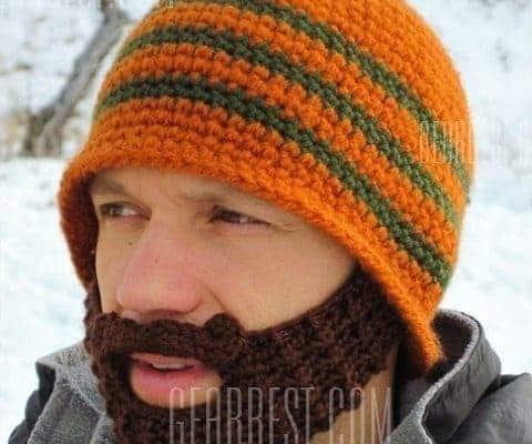 Bonnet barbe de hipster