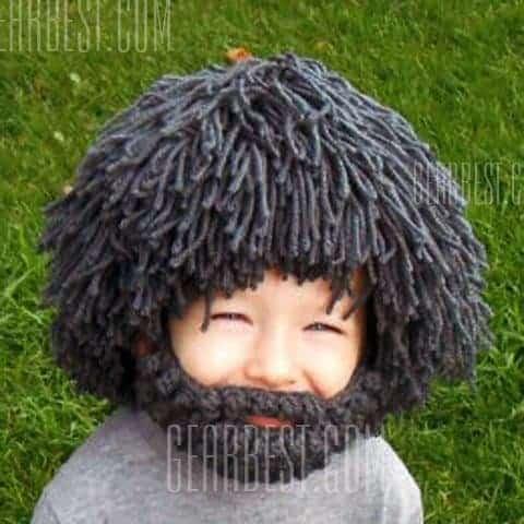 Bonnet barbe - pour les petits