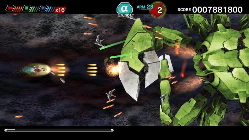 Darius Burst Chronicle Saviours - Le mode CS pour écrans 16/9