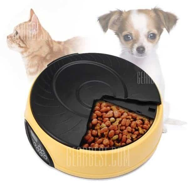 distributeur automatique de croquettes pour chiens et chats. Black Bedroom Furniture Sets. Home Design Ideas