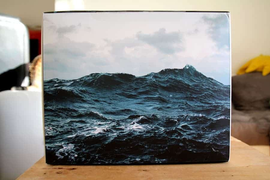 Devialet Phantom - La boîte est une vraie oeuvre d'art.