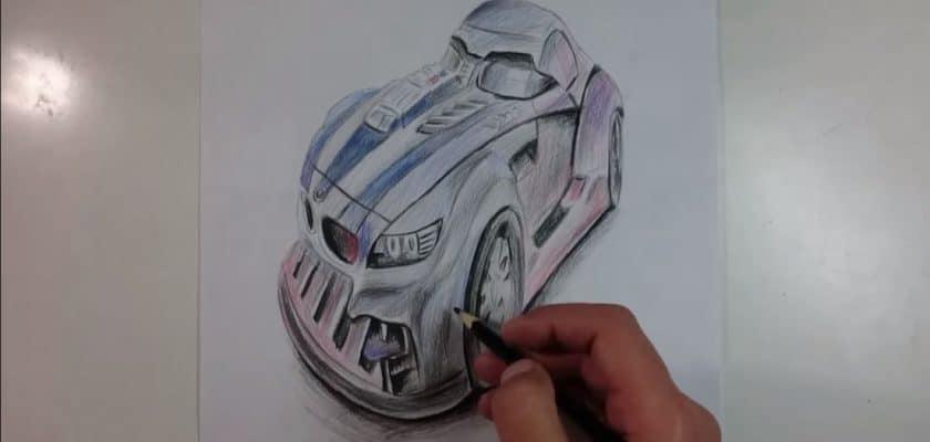 voiture speed painting star wars 7