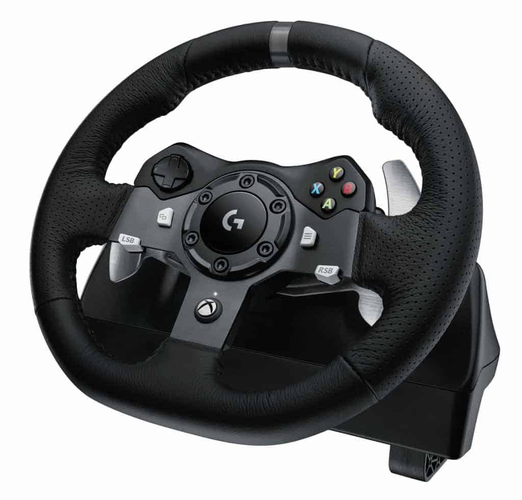 Logitech G920 - Le volant