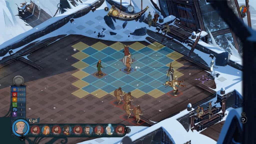 The Banner Saga - Les combats sont un plaisir à jouer.