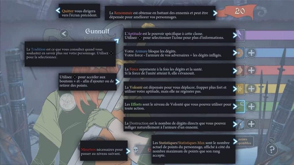 The Banner Saga - Le style RPG bien présent.