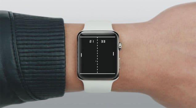 Apple Watch - Pong