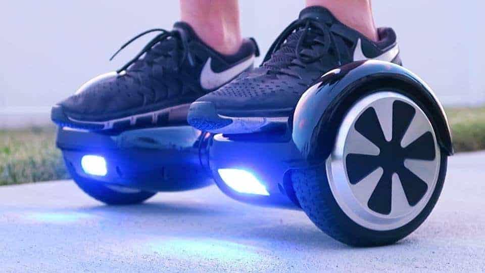 """Hoverboard Weebot - Un modèle robuste sans pour autant être """"tout terrain"""""""