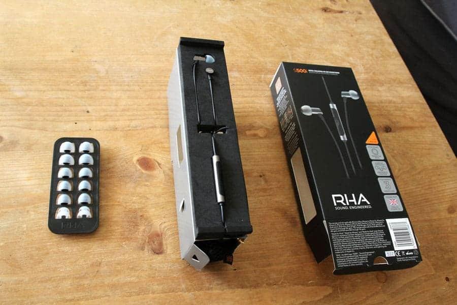RHA S500i - Le raffinement jusque dans le packaging.