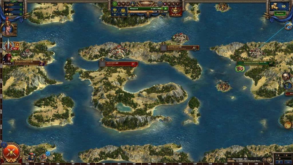 Sparta War of empires - Partir en guerre vers les cités voisines