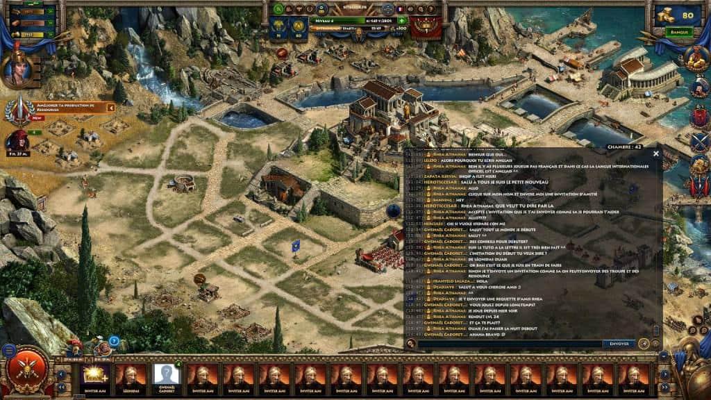 Sparta War of empires - une communauté francophone sympathique