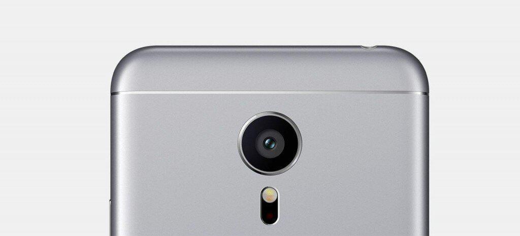 Meizu Pro 5 - La vue arrière