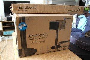 Soundtower XL - Le pire packaging du monde ?