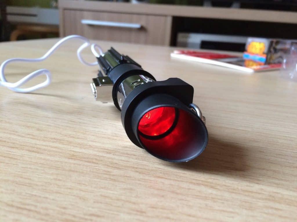 Les leds vous signalent l'état de la batterie.
