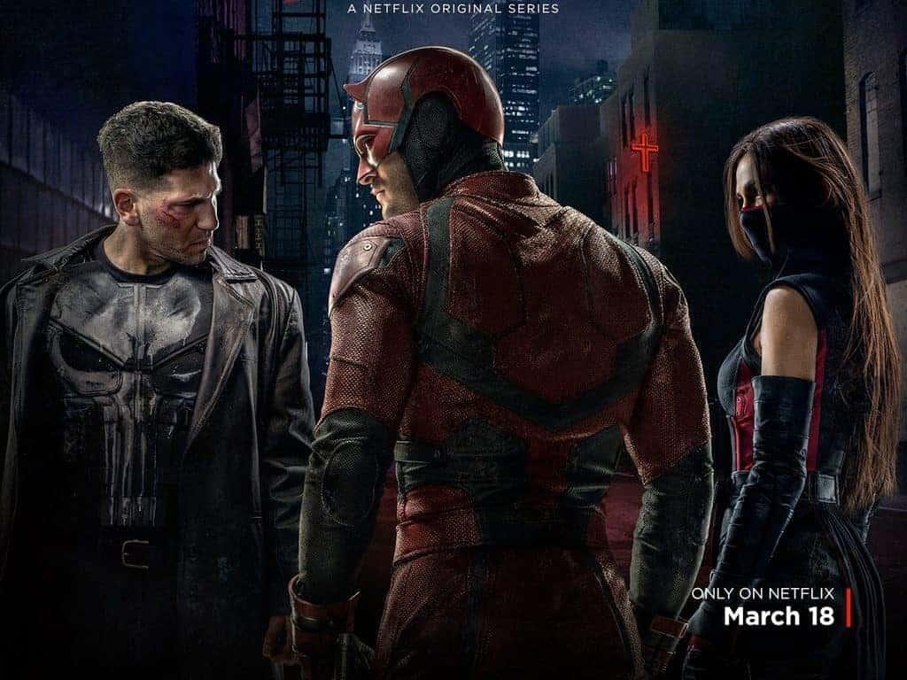 Elektra et Punisher viennent renforcer le cast.