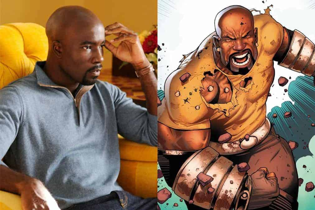 Mike Colter incarne Luke Cage, inspiré du comics Power Man de Marvel