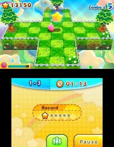 Le mode Kirby 3D, fun mais sans plus