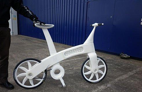 Imprimante 3D - Un vélo en nylon