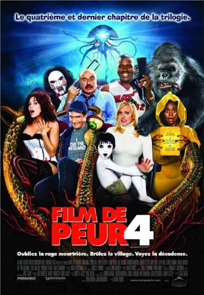 Film de peur 4 - La pochette